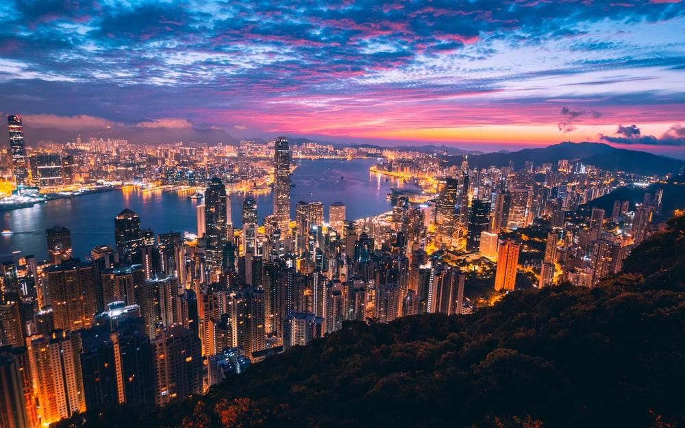 Arrive at Hong Kong